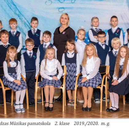 2.klase, klases audzinātāja Aina Petrovska
