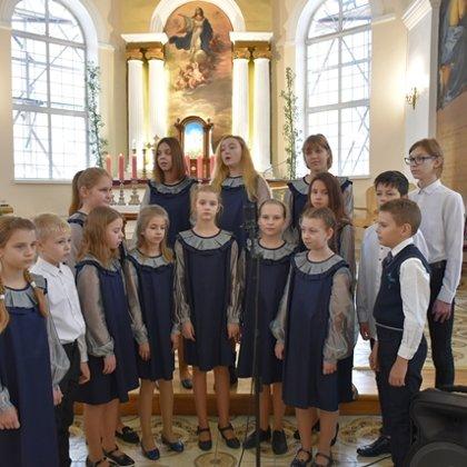 Ziemassvētku koncerts Ludzas Romas katoļu baznīcā.