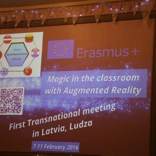 Transnacionālā Erasmus+ projekta sanāksme